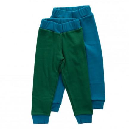 JULIEN bleu canard & vert