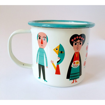 OMM - Enamel Mug Artists
