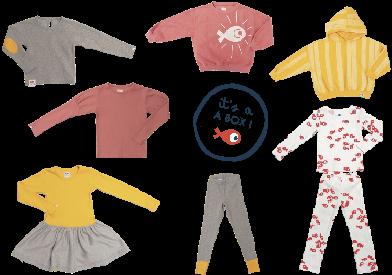 La Box bonjour maurice - une box vêtement bébé et enfant
